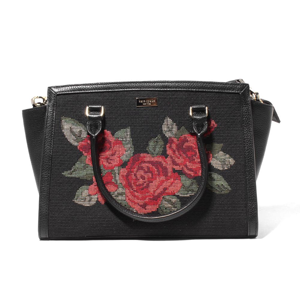 Kate Spade Leather Floral Bag