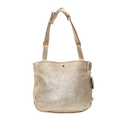 YSL Gold Besace Bag