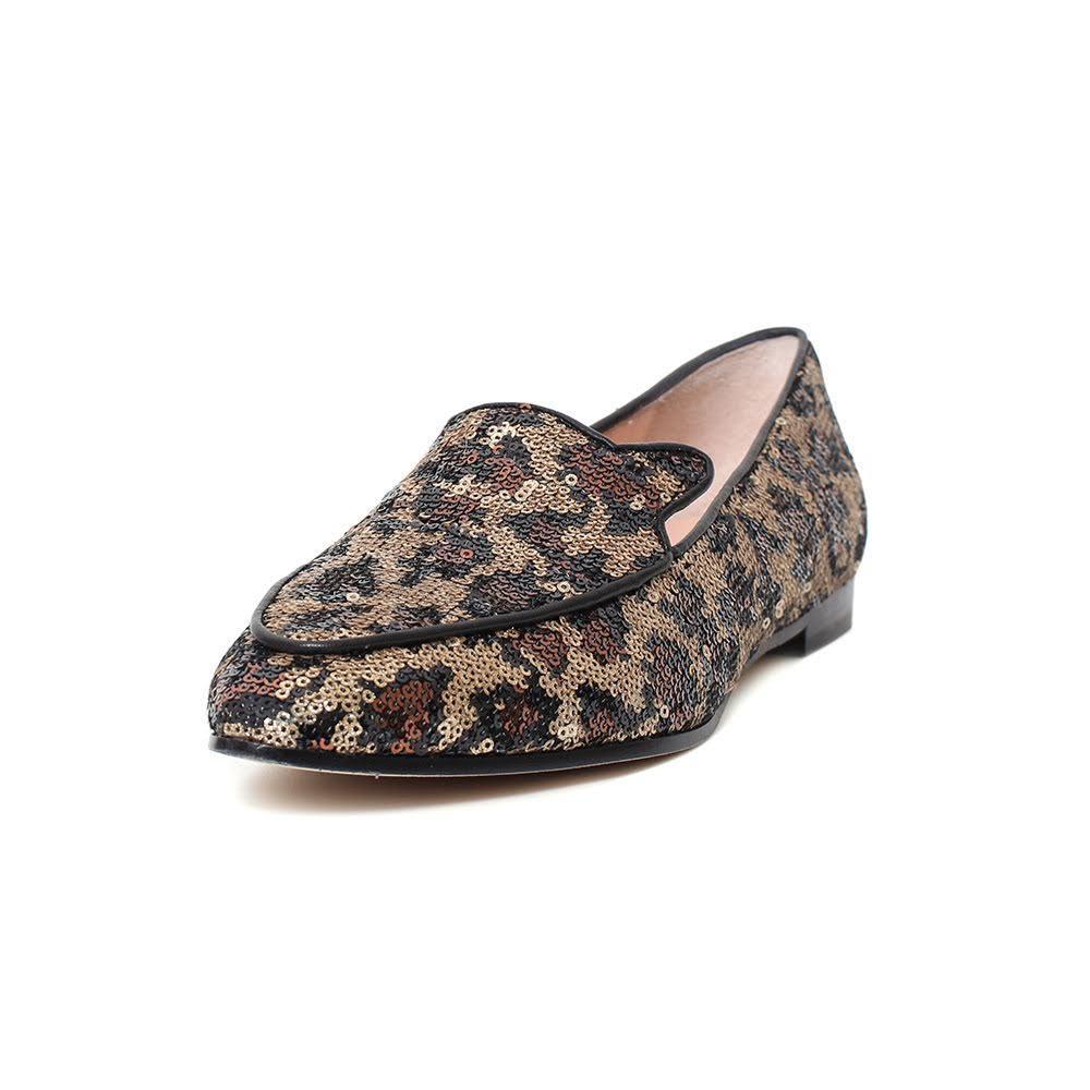 Kate Spade Size 8.5 Sequin Leo Flats
