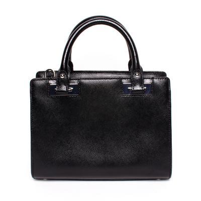 Michael Kors Black Coated Canvas Crossbody Bag