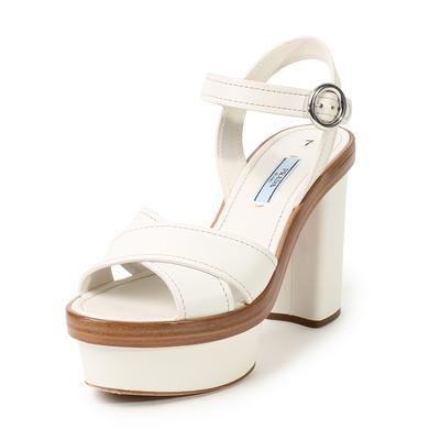 Prada Size 37.5 Platform Sandals
