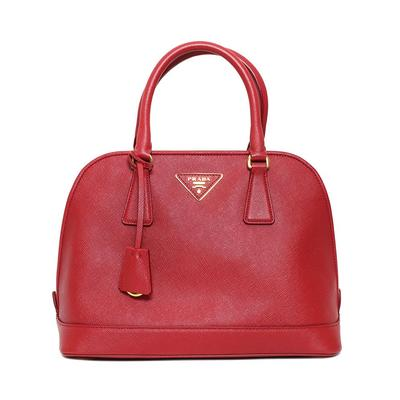 Prada Red Leather Bag