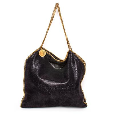 Stella McCartney Black Mini Chain Falabella Handbag