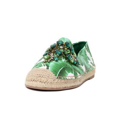 Dolce & Gabbana Size 38 Crystal Espadrille