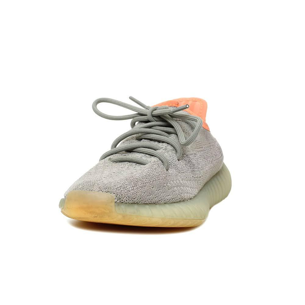 Yeezy Size 6 Grey/Orange Sneaker