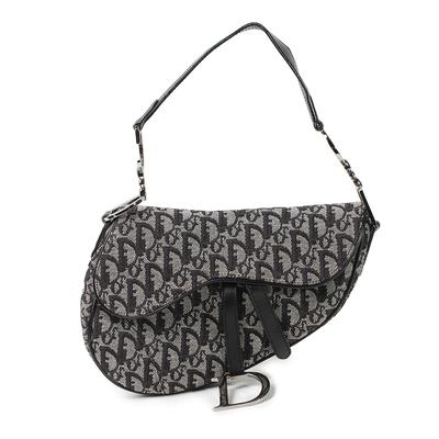 Christian Dior Monogram Saddle Bag
