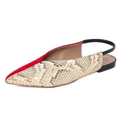 Mercedes Castillo Size 39 Red Slingback Shoes