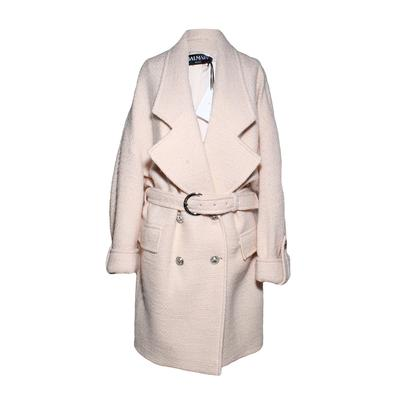 Balmain Size 38 Pink Coat