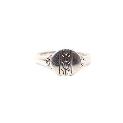 John Hardy Size 7 Silver Ring