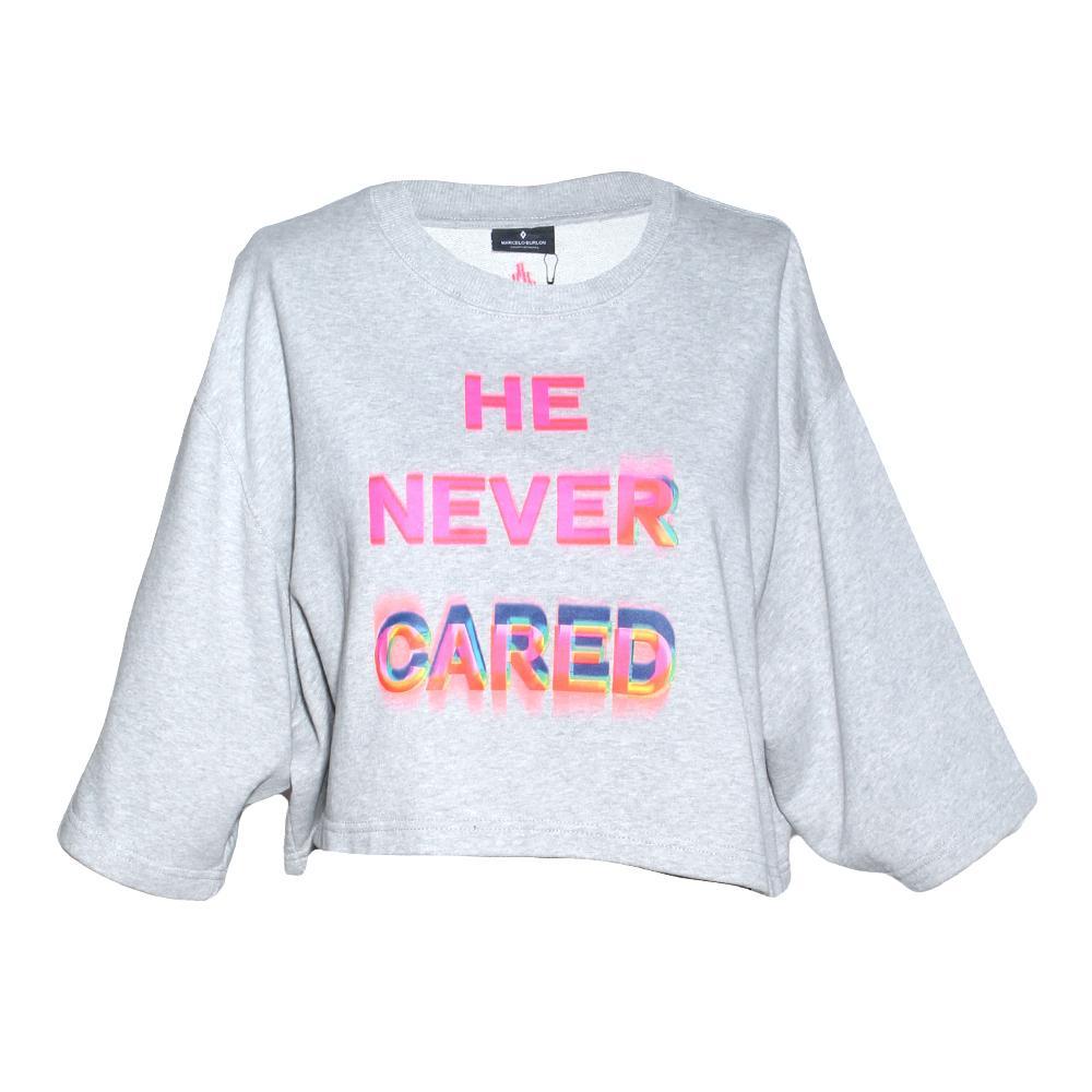 Marcelo Burlon Size Medium Cropped Sweater
