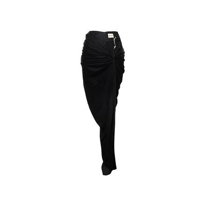 Khaite Size Small Black Skirt