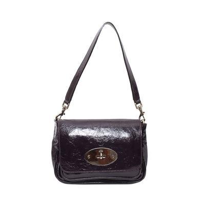 Mulberry Purple Patent Bag