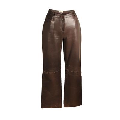 Neiman Marcus Size 8 Leather Pants