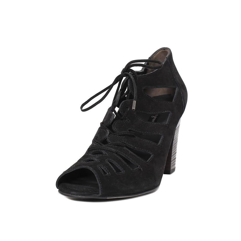 Paul Green Black Out Heels