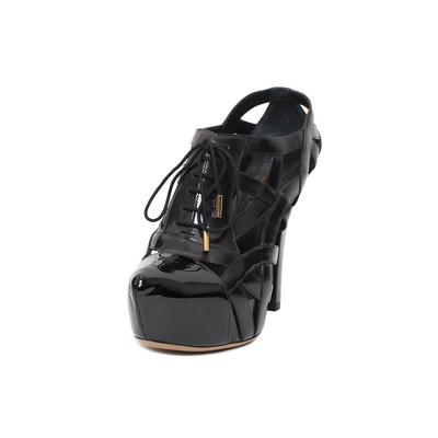 Louis Vuitton Size 38 Cage Heels
