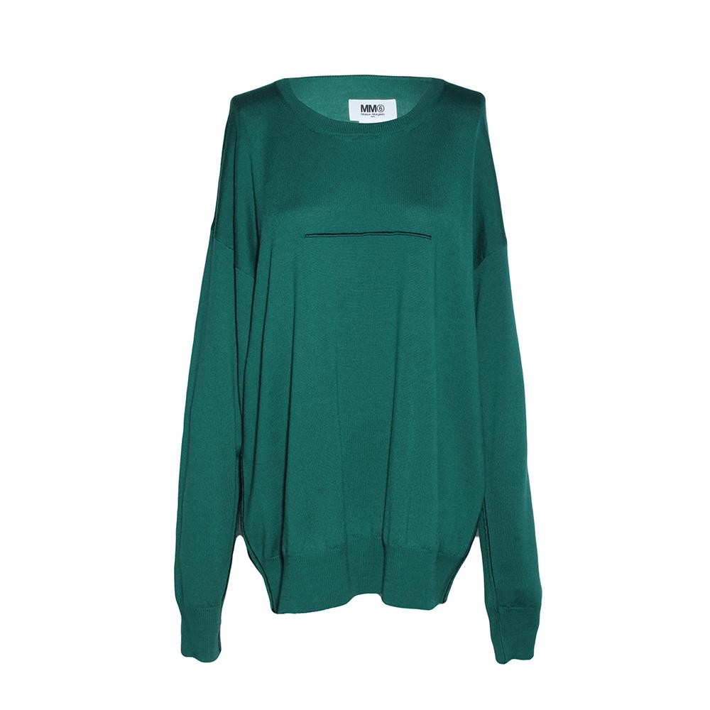 Maison Martin Margie Size Medium Green Sweater