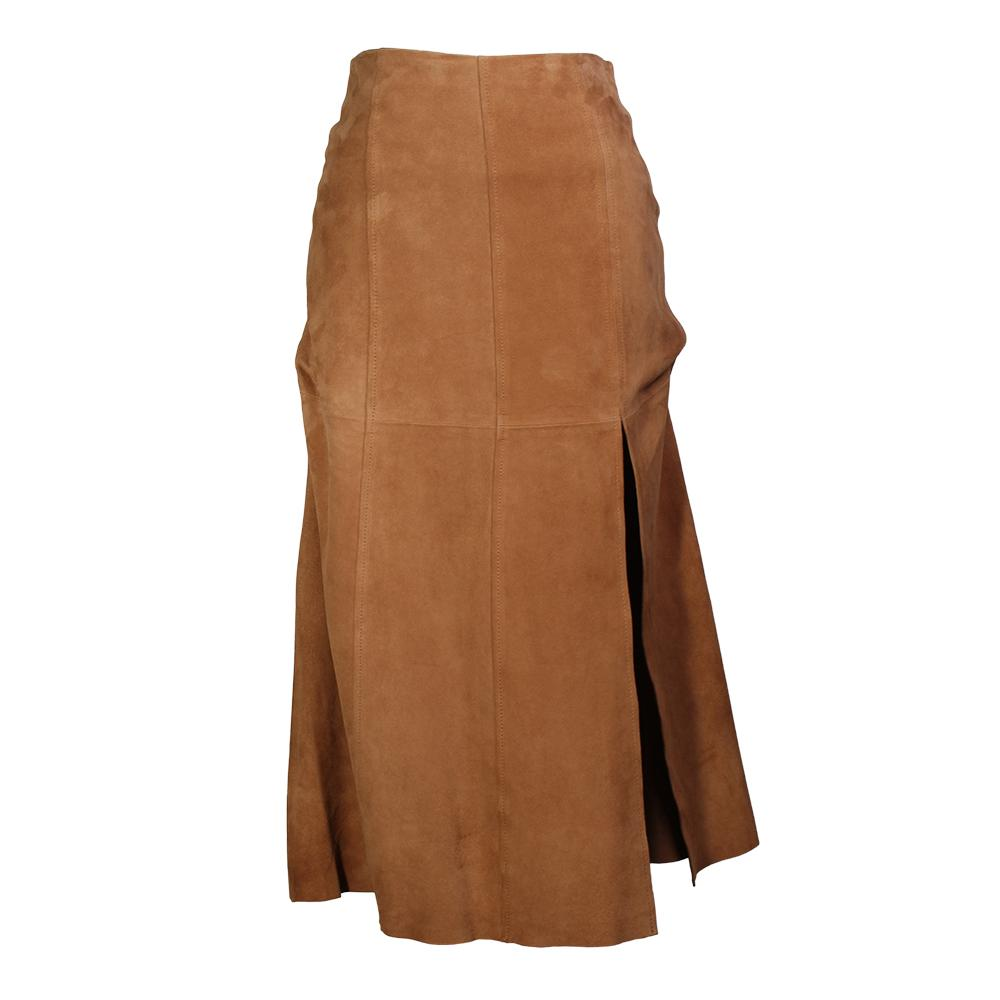 Intermix Size 0 Suede Skirt