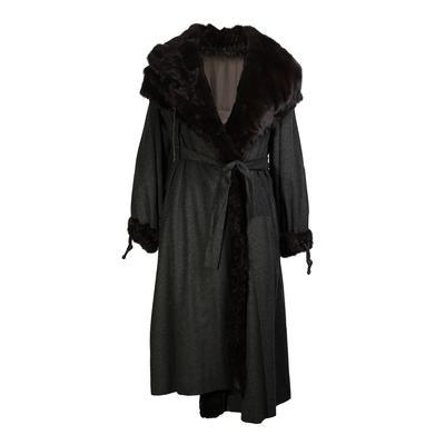 Fendi Size 40 Reversible Mink Coat