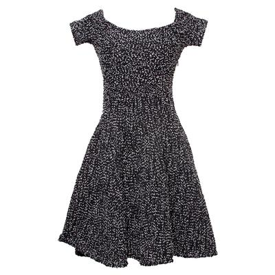 Christian Dior Size 6 Black & White Dress
