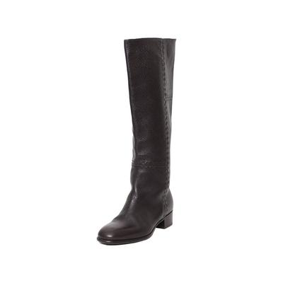 Fendi Size 38.5 Knee High Boots