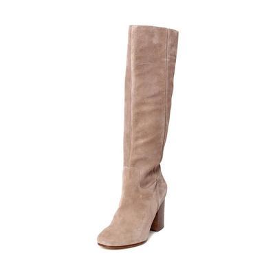 Via Spiga Size 38.5 Tan Suede Boots