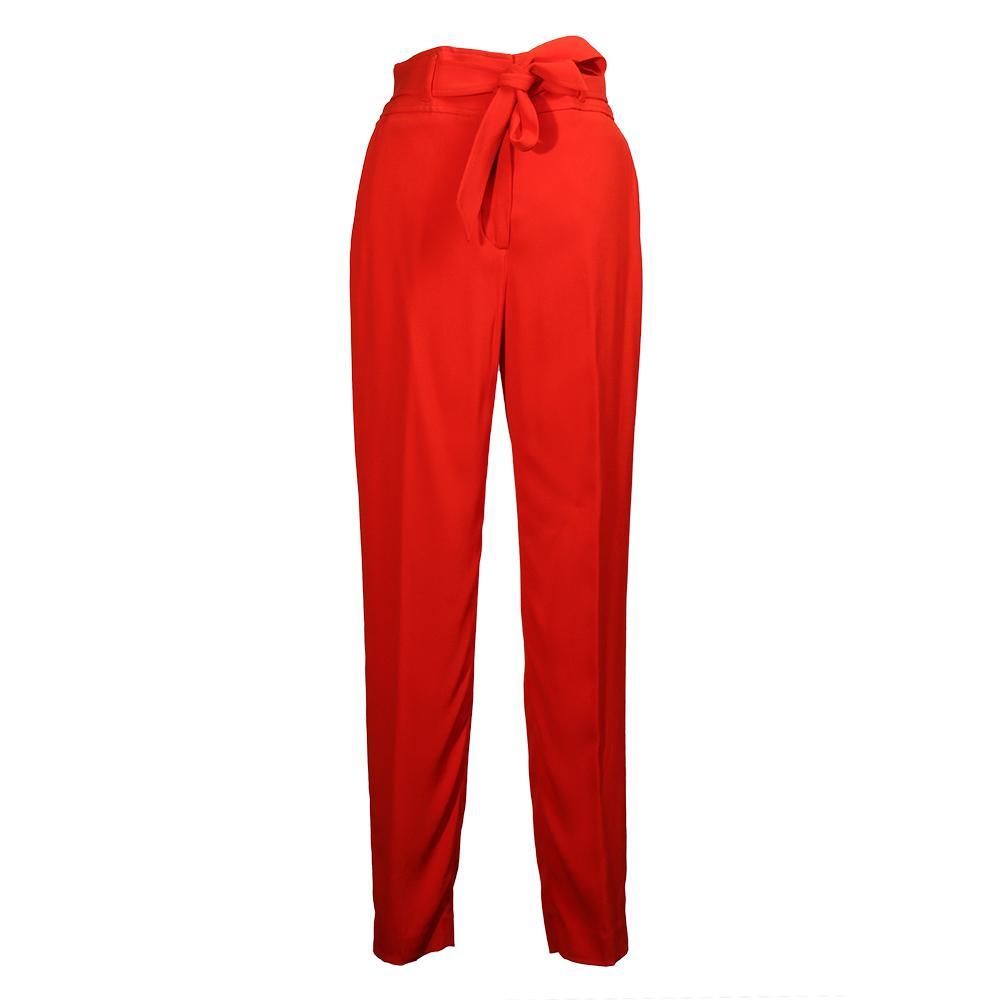 Veronica Beard Size 2 Belted Faxon Capri Pants