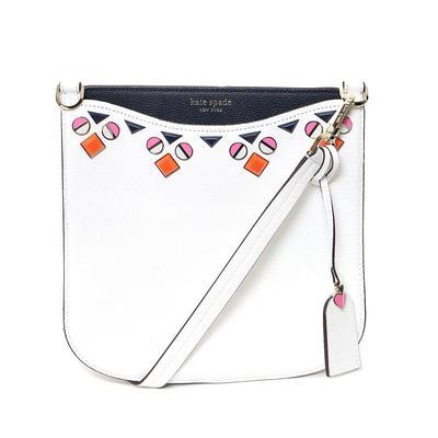 Kate Spade White Jewel Bag