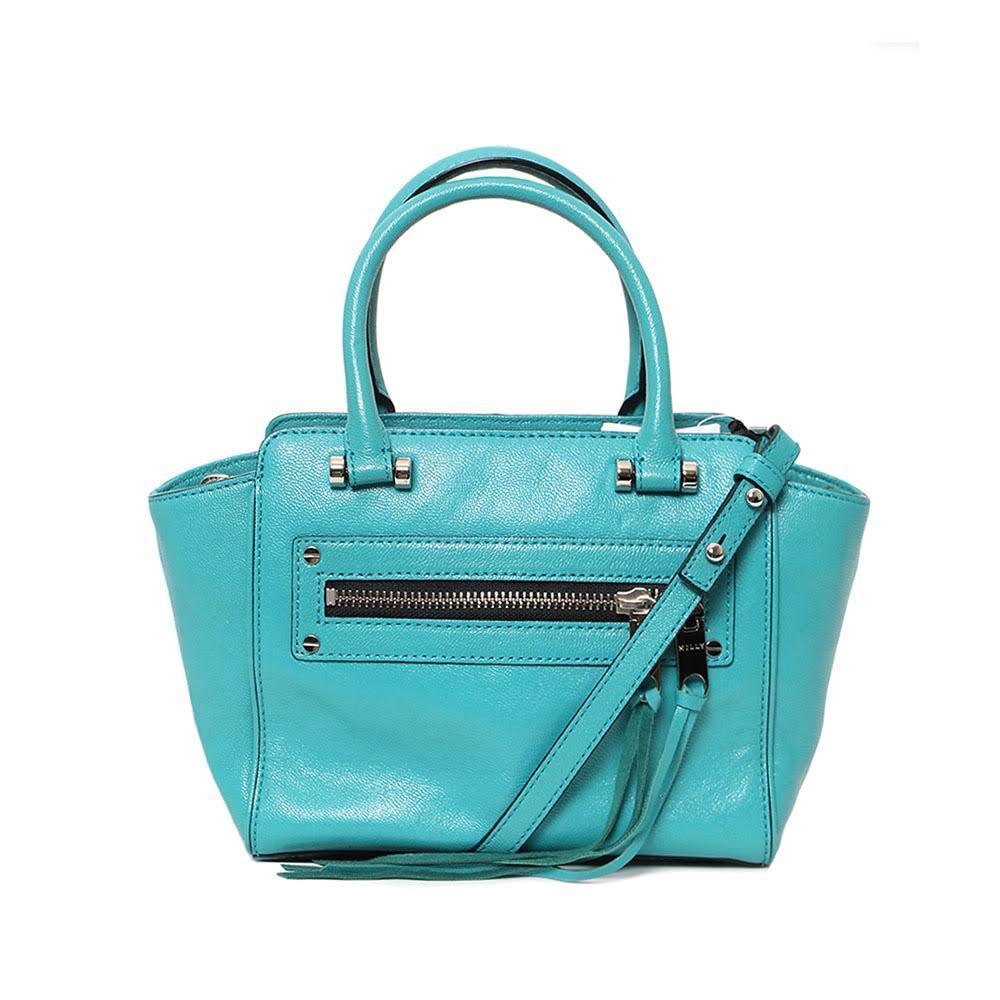 Milly Turquoise Handbag