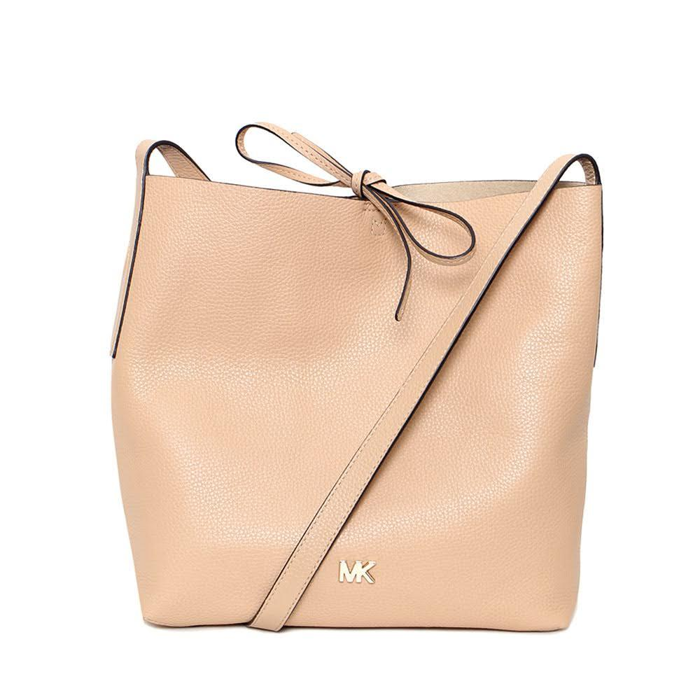 Michael Antonio Tan Leather Bag