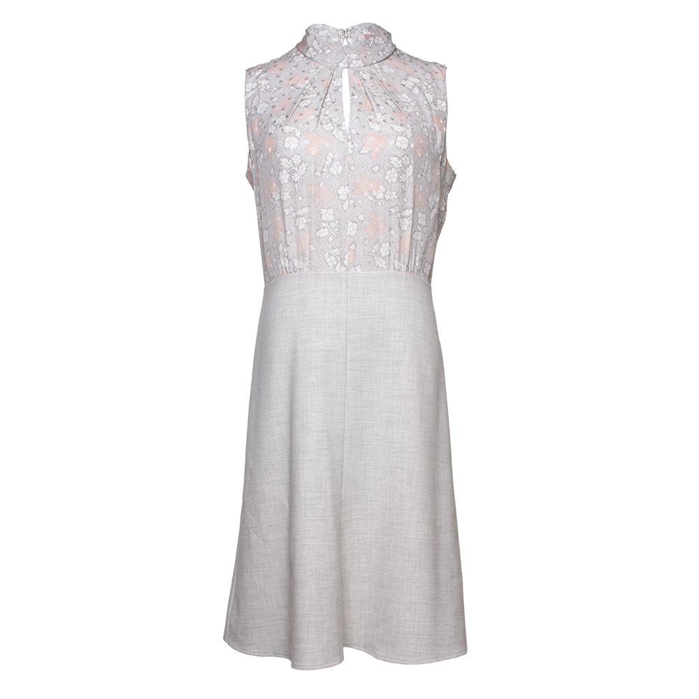 Rebecca Taylor Size 6 Pink Floral Dress