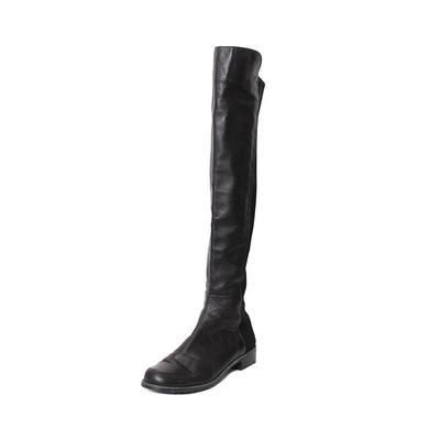 Stuart Weitzman Size 8 Over the Knee Black Boots