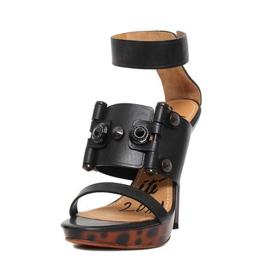 Lanvin Size 38.5 Black Heels