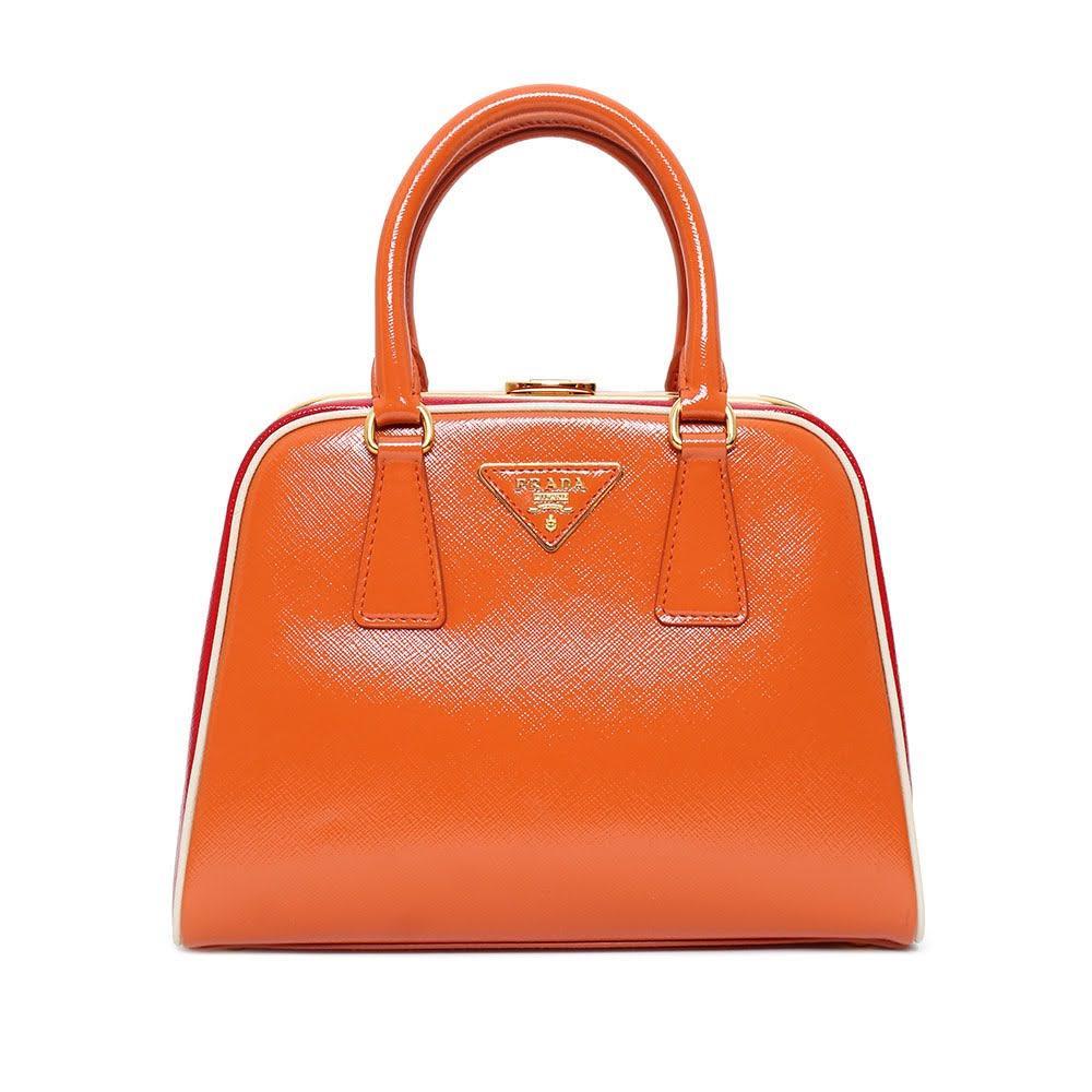 Prada Frame Top Handle Bag