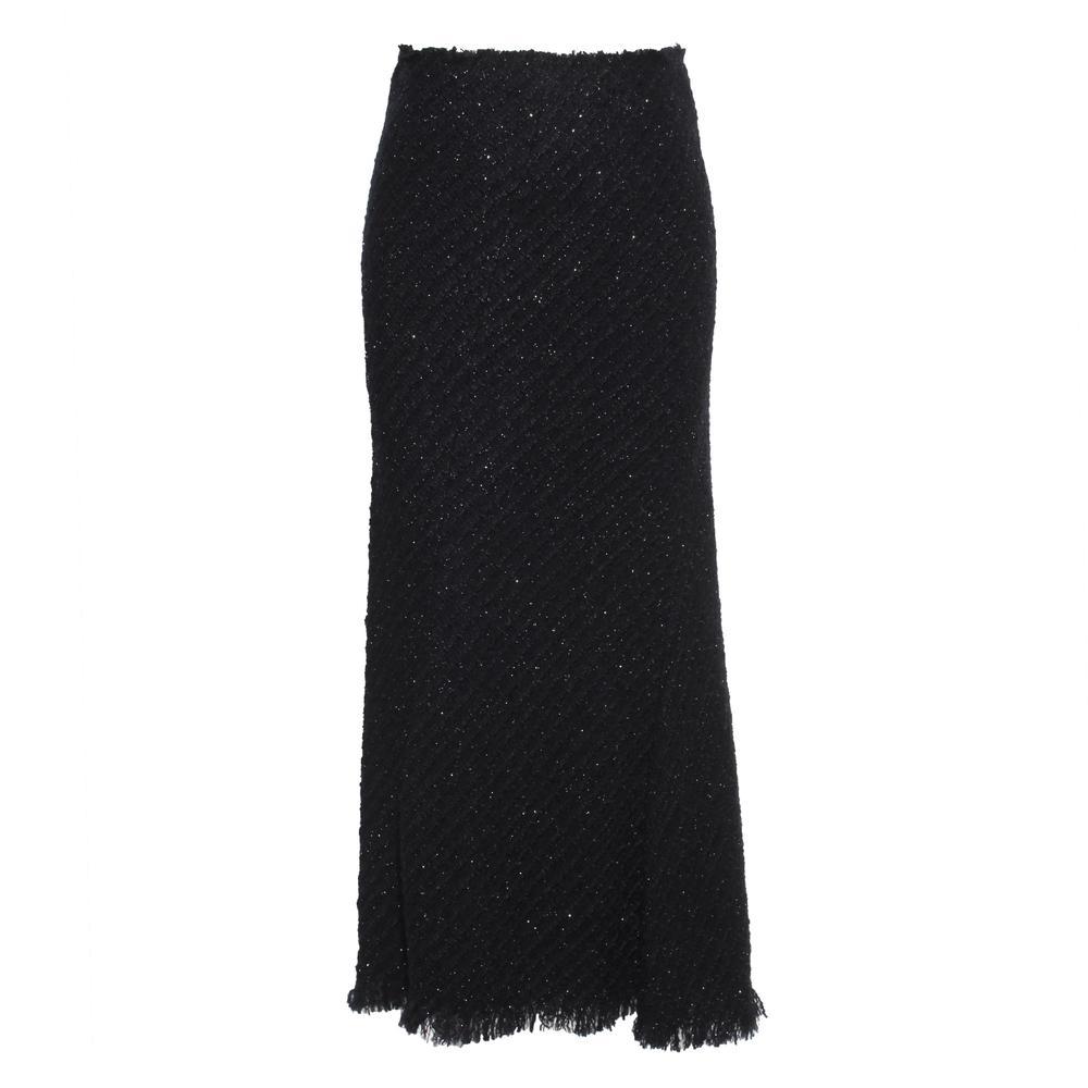Alexander Wang Size 4 Long Tweed Skirt
