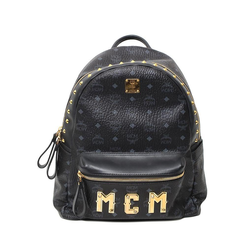Mcm Stark Logo Bag