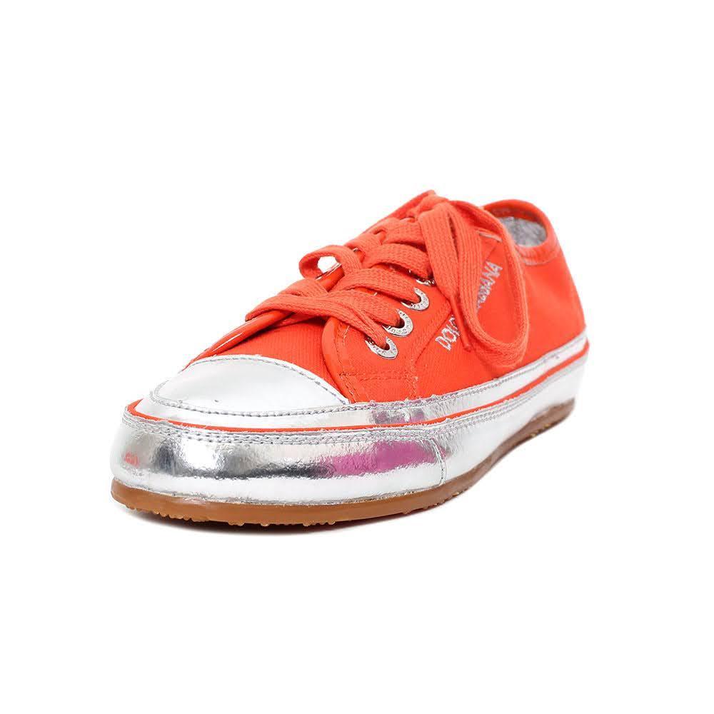 Dolce & Gabbana Size 37.5 Orange Sneaker