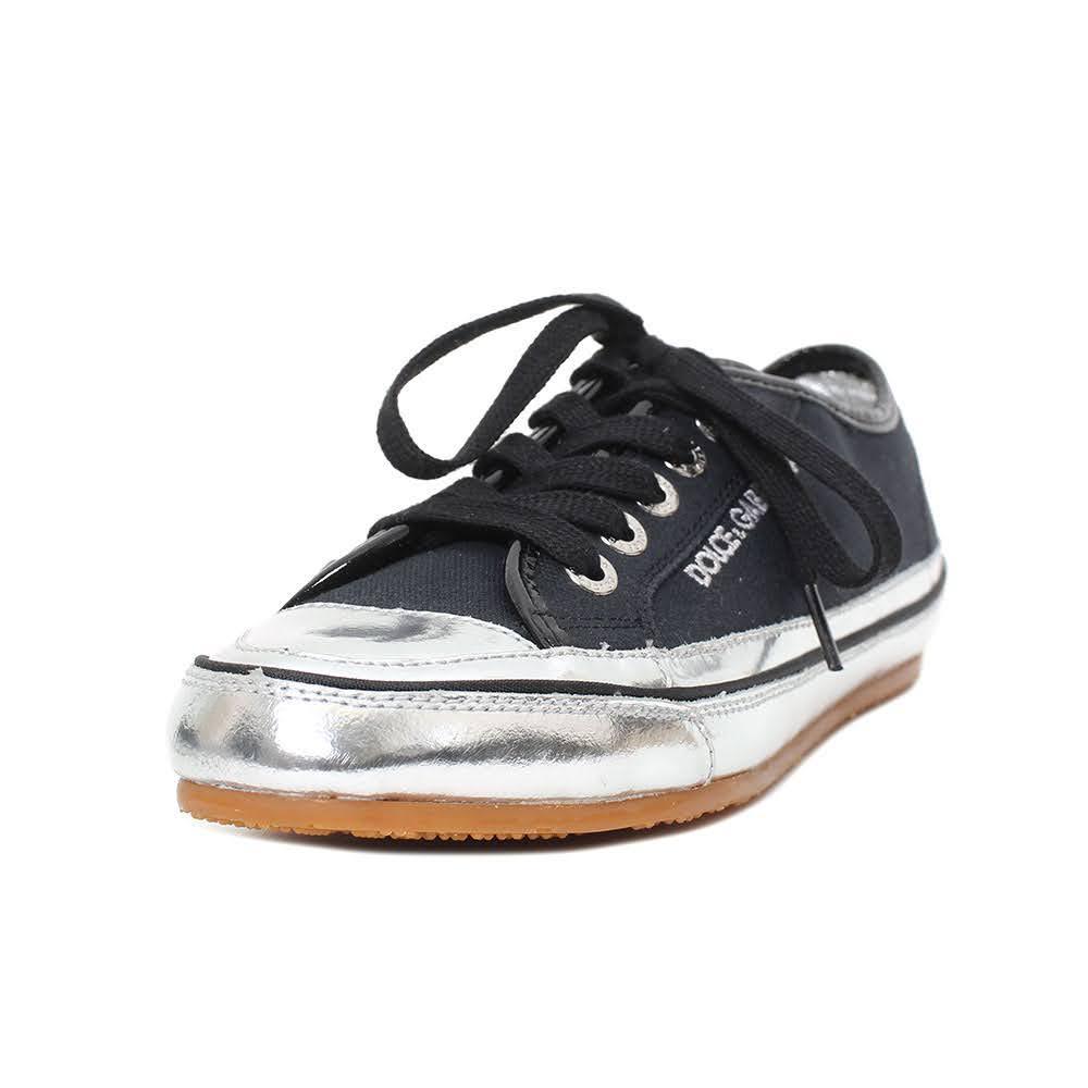 Dolce & Gabbana Size 38 Black Sneaker