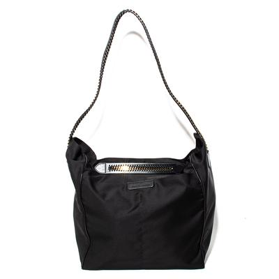 Stella McCartney Large Black Nylon Tote Bag
