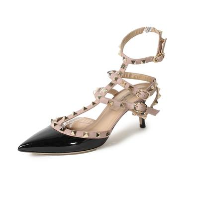 Valentino Size 36 Rockstud Cage High Heel