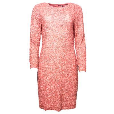 Alice + Olivia Size 14 Pink Sequin Dress