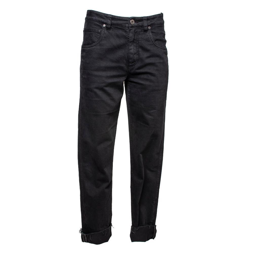 Brunello Cucinelli Size 2 Black Denim Jeans