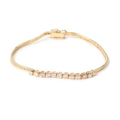 14KYG Diamond Bracelet