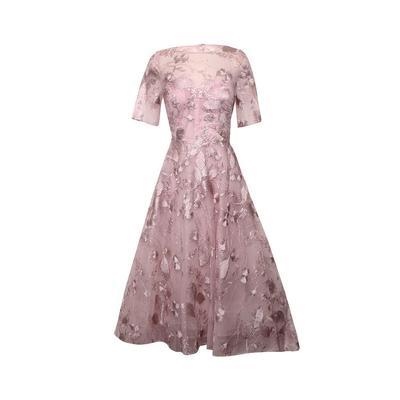Teri Jon Size 8 Pink Gown