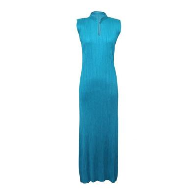 Issey Miyake Size Large Blue Dress