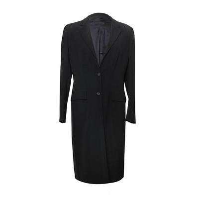 Prada Size 40 Black Coat