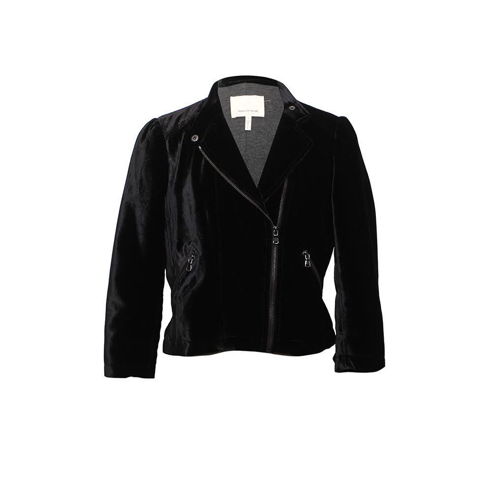 Rebecca Taylor Size 2 Xs Velvet Jacket