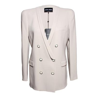 Giorgio Armani Size 44 Tan Jacket