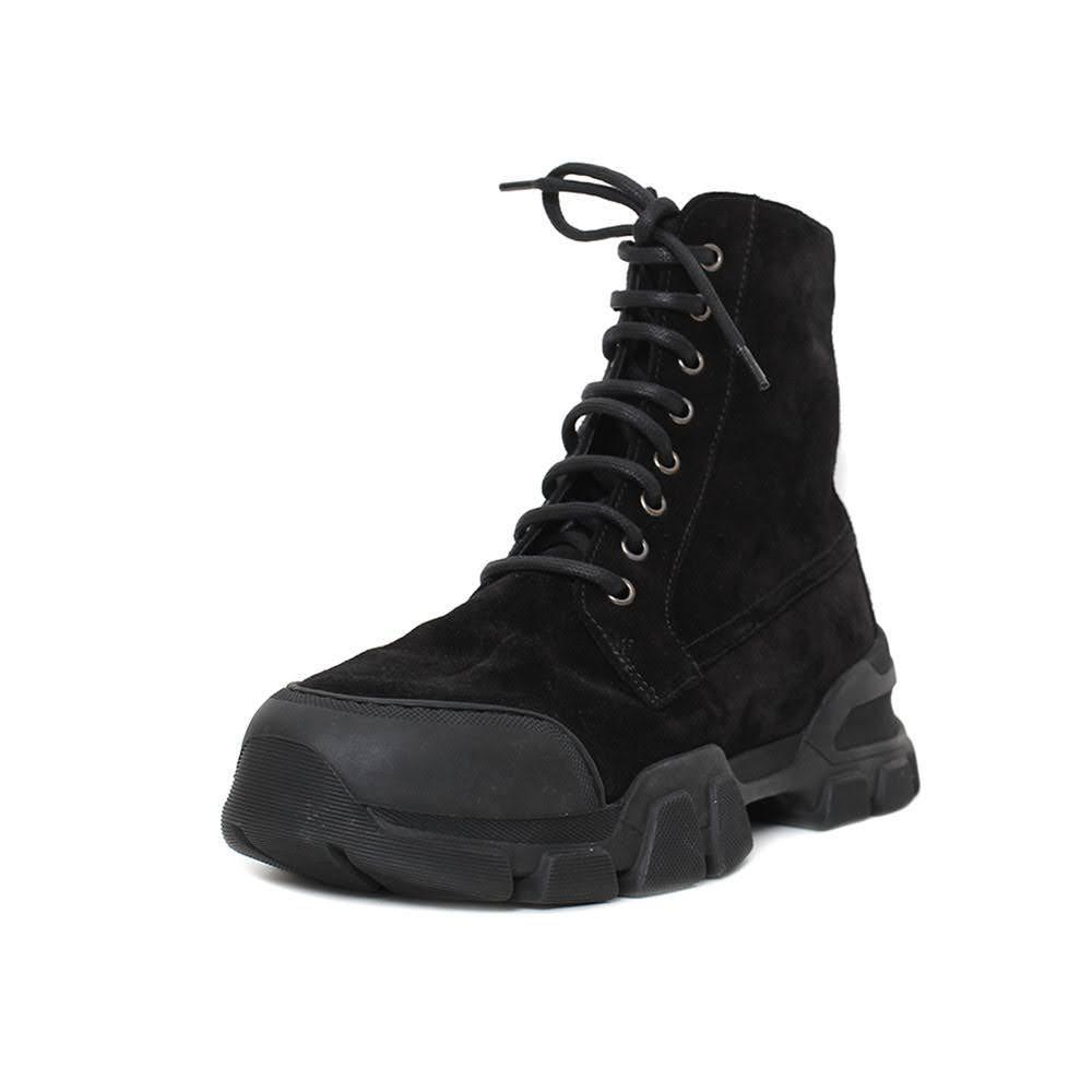 Aquatalia Size 9 Black Suede Boots