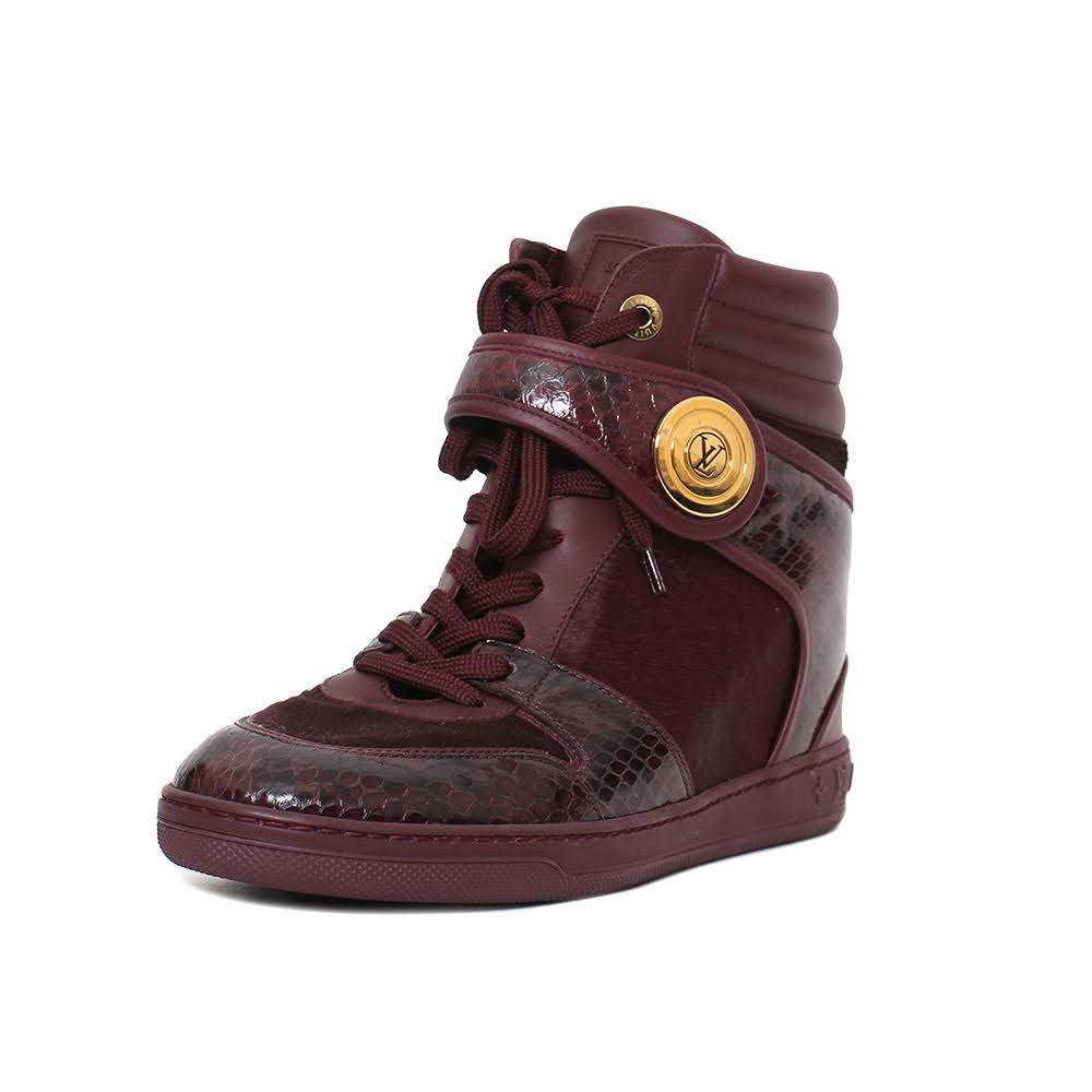 Louis Vuitton Size 38.5 Calf Hair Sneaker