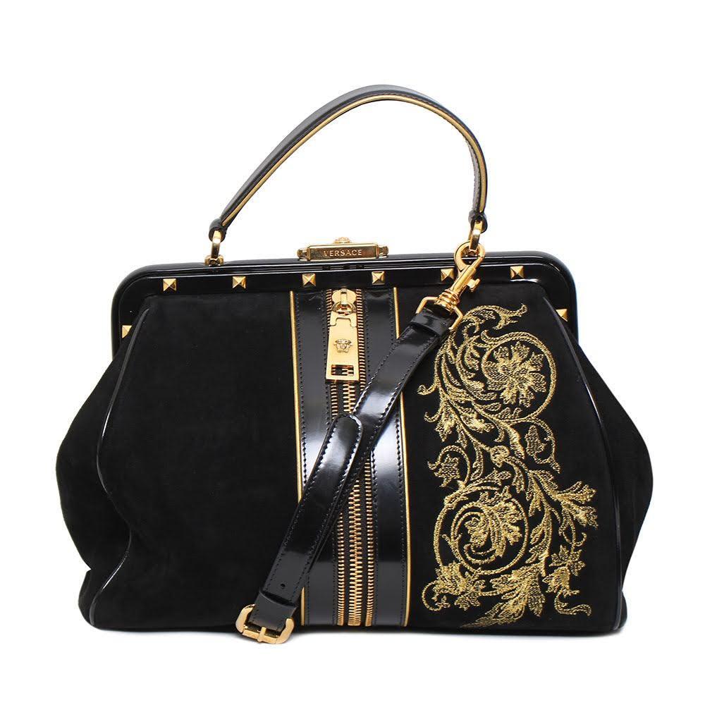 Versace Gold Trim Bag